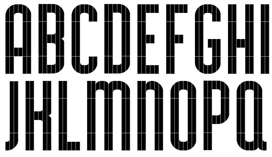Fregio Mecano – Modular Type – CSS Thumbnail