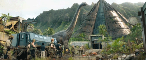 Jurassic World Fallen Kingdom Trailer Gif