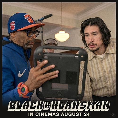 BlacKkKlansman Social Squares