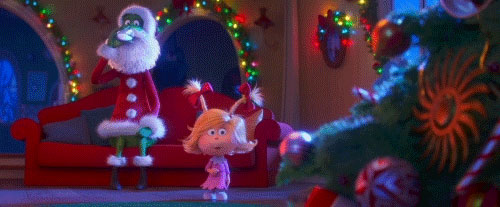 The Grinch Social Gif